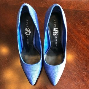 🎸 rock & republic matte heels